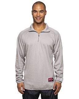Adult 8.8 Oz., Polyester Fleece 1/4-Zip Sweatshirt-Rawlings
