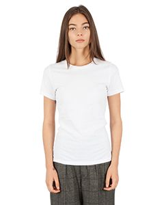 Ladies Combed Ring-Spun Cotton Crew-