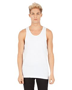 Mens Combed Ring-Spun Cotton Tank-Simplex Apparel