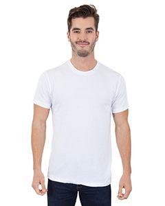 Mens Cvc Crewneck T-Shirt-Simplex Apparel