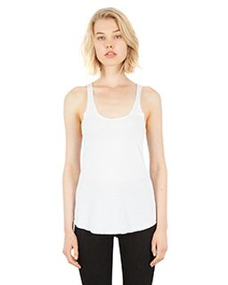 Ladies 4.6 Oz. Tri-Blend Racerback Tank Top-
