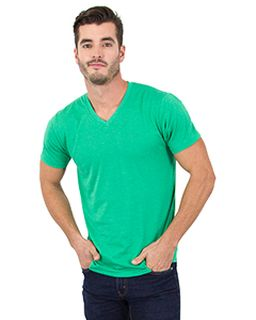Mens 4.6 Oz. Tri-Blend V-Neck T-Shirt-Simplex Apparel