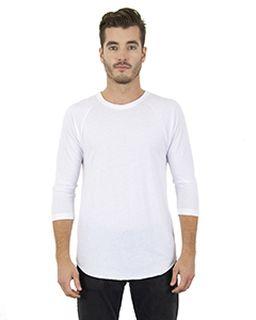 Unisex 4.6 Oz. Tri-Blend 3/4-Sleeve Raglan T-Shirt-