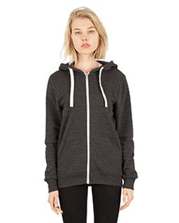 Unisex 7.8 Oz. Tri-Blend Full-Zip Hoodie T-Shirt-