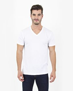 Mens 4.6 Oz. Tri-Blend V-Neck T-Shirt-