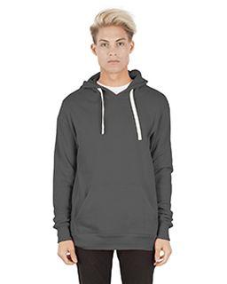 Unisex 7.6 Oz. Modal Pullover Hooded T-Shirt-Simplex Apparel