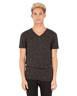 Mens 4.3 Oz. Caviar V-Neck T-Shirt-