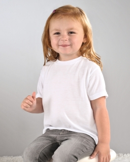 Toddler Sublimation Polyester T-Shirt-Sublivie