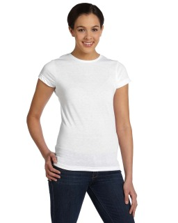 Ladies Junior Fit Sublimation Polyester T-Shirt-Sublivie