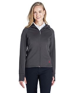 Ladies Hayer Full-Zip Hooded Fleece Jacket-