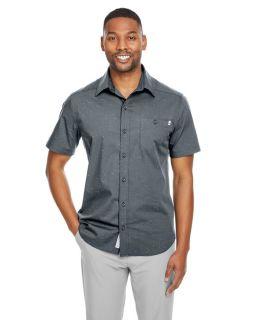 Mens Stryke Woven Short-Sleeve Shirt-