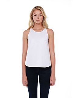 Ladies 3.5 Oz., 100% Cotton Rounded Tank-StarTee