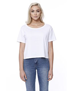 Ladies Cotton Boxy T-Shirt-