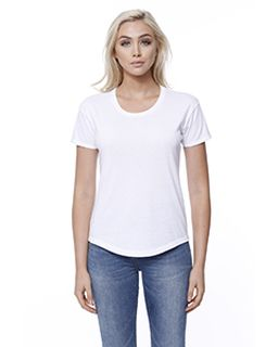 Ladies Cvc Melrose High Low T-Shirt-