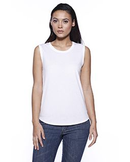 Ladies Cvc Sleeveless T-Shirt-StarTee