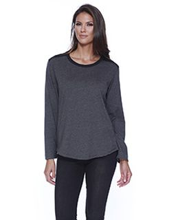 Ladies Cvc Melrose Long-Sleeve T-Shirt-StarTee