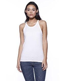 Ladies Cvc Halter Tank Top-