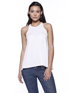 Ladies Cvc Flared Tank Top-