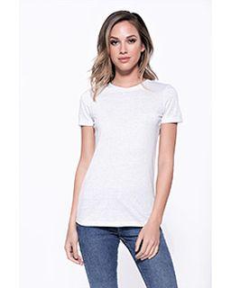 Ladies Triblend Crew Neck T-Shirt-