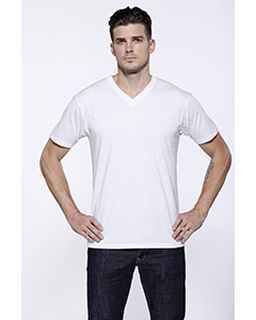 Mens Cvc V-Neck T-Shirt-StarTee