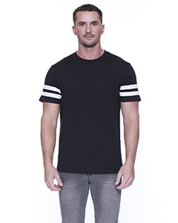 Mens Cvc Stripe Varsity T-Shirt-