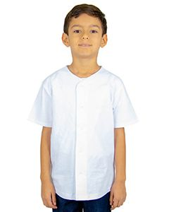 Youth 7 Oz., 100% Us Cotton Baseball Jersey-