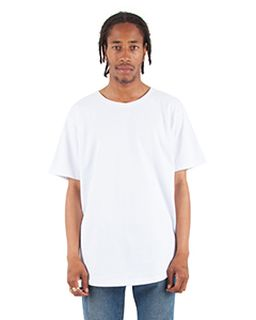 Adult 6 Oz., Curved Hem Long T-Shirt-Shaka Wear