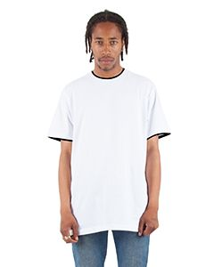 Adult 5.9 Oz., Double Layer Short-Sleeve Crewneck T-Shirt-Shaka Wear