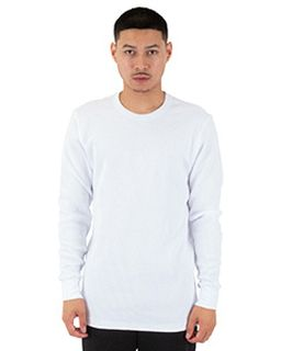 Mens Spandex Thermal Crewneck T-Shirt-