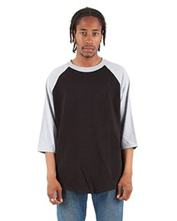 Adult 6 Oz., 3/4-Sleeve Raglan T-Shirt-Shaka Wear