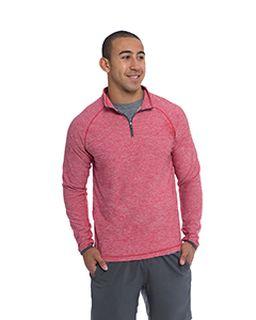 Mens Continuum Quarter-Zip Pullover-