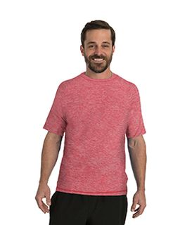 Mens Hit Short Sleeve T-Shirt With Back Mesh Panel-Soybu