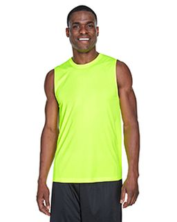 Mens Zone Performance Muscle T-Shirt-Team 365