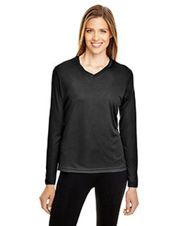 Ladies Zone Performance Long-Sleeve T-Shirt-