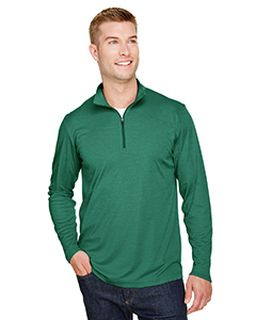 Mens Zone Sonic Heather Performance Quarter-Zip-