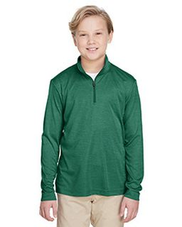Youth Zone Sonic Heather Performance Quarter-Zip-