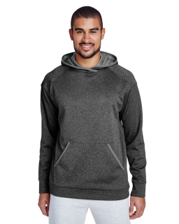 Adult Excel Melange Performance Fleece hoodie-Team 365