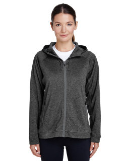 Ladies Excel Melange Performance Fleece Jacket-
