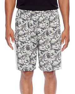 Mens Tournament Sublimated Camo Short-Team 365