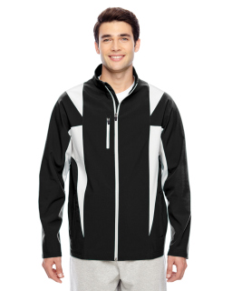 Mens Icon Colorblock Soft Shell Jacket-