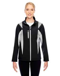 Ladies Icon Colorblock Soft Shell Jacket-Team 365