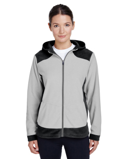 Ladies Rally Colorblock Microfleece Jacket-