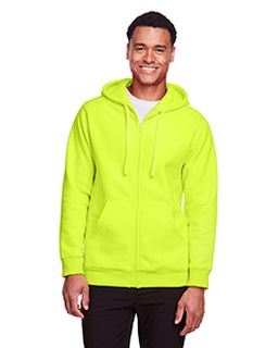 Adult Zone Hydrosport™ Heavyweight Full-Zip Hooded Sweatshirt-Team 365