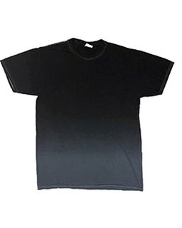 Adult 5.4 Oz. 100% Cotton Ombre Dip-Dye T-Shirt-Tie-Dye