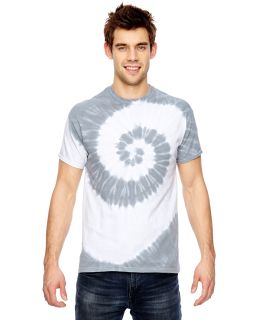 For Team 365 Adult Team Tonal Spiral Tie-Dyed T-Shirt