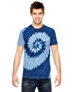 For Team 365 Adult Team Tonal Spiral Tie-Dyed T-Shirt-