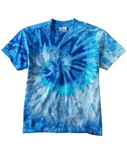 Youth 5.4 Oz. 100% Cotton T-Shirt-Tie-Dye