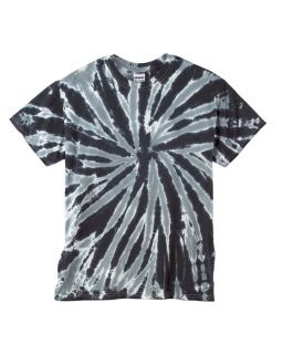 Adult 5.4 Oz., 100&#37<long> Cotton Twist Tie-Dyed T-Shirt