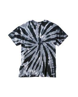 Youth 5.4 Oz., 100% Cotton Twist Tie-Dyed T-Shirt-Tie-Dye