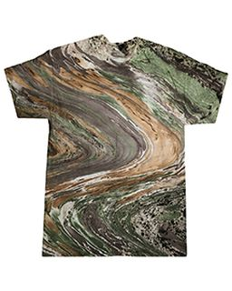 Adult 100% Cotton Marble T-Shirt-Tie-Dye